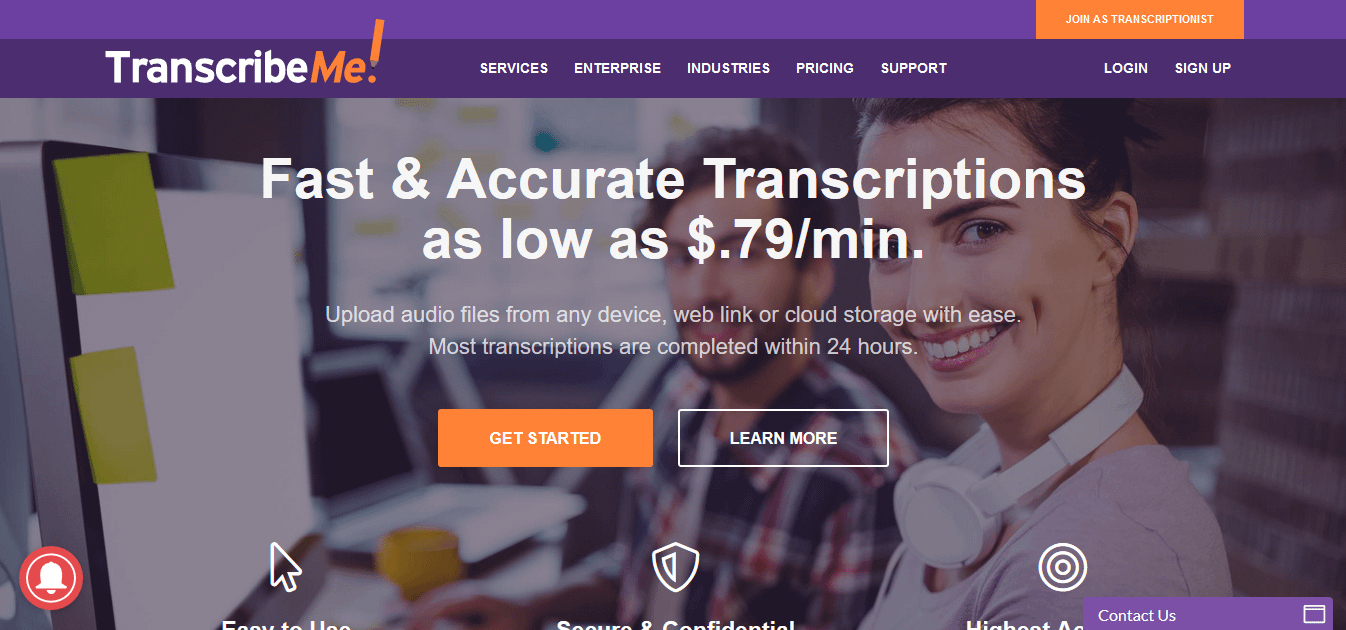 Paid Transcription Work With TranscribeMe