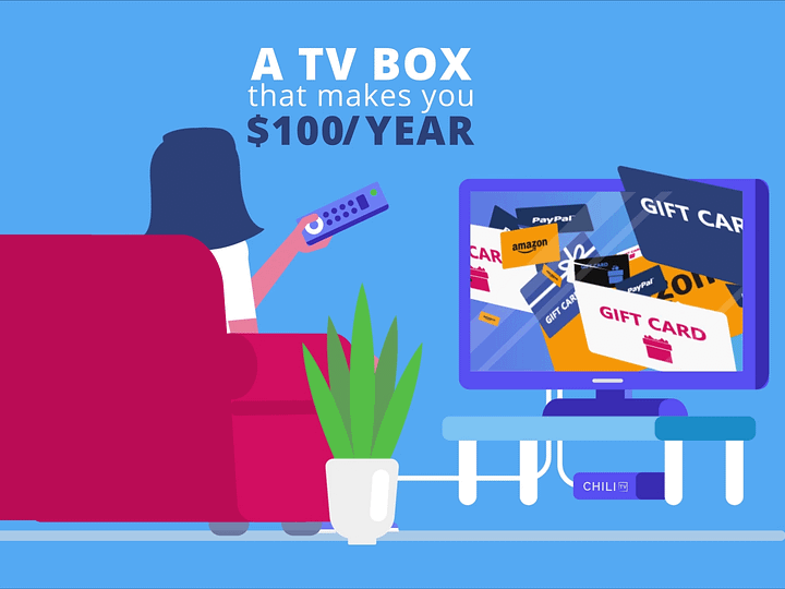 Earn $100 Passive Income A Year With Chili TV