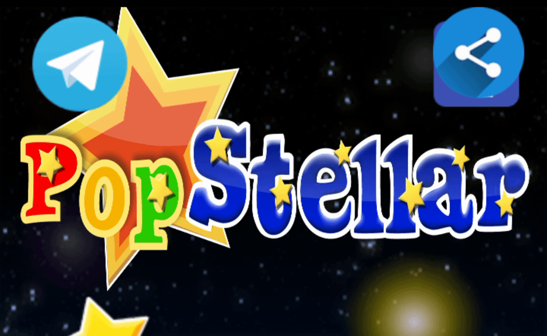Earn Free XLM by Playing PopStellar!
